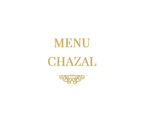 Menu Chazal